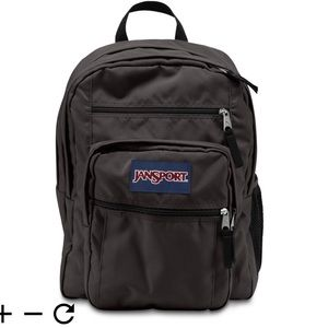 Jansport Black Big Student Backpack Unisex